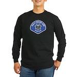 Half Moon Bay Police Long Sleeve Dark T-Shirt