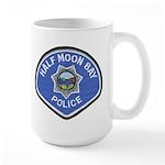 Half Moon Bay Police Large Mug
