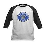 Half Moon Bay Police Kids Baseball Jersey