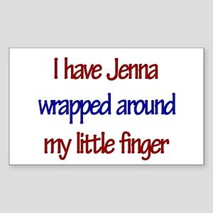 I Have Jenna Rectangle Sticker