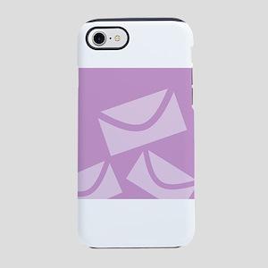 Lavender Envelopes iPhone 8/7 Tough Case