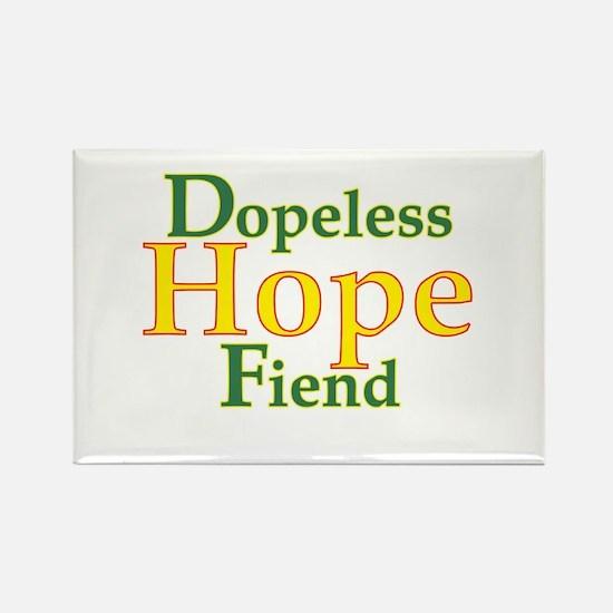 Dopeless Hope Fiend Rectangle Magnet