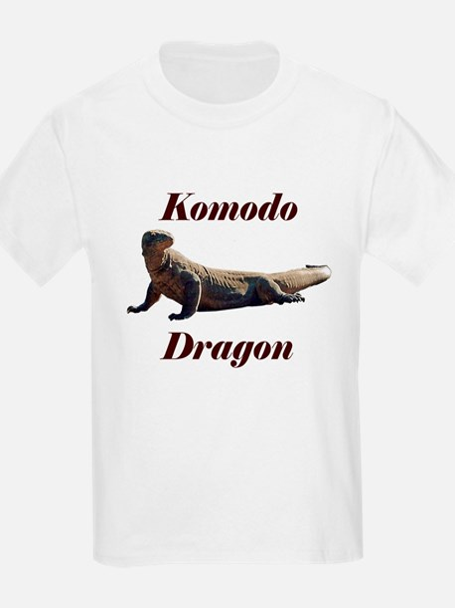 Komodo Dragon Kids T-Shirt