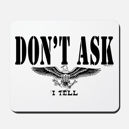 Don't Ask Mousepad