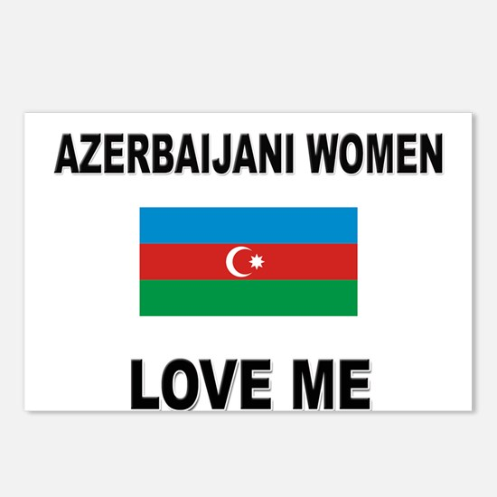 Azerbaijani Women Love Me Postcards (Package of 8)