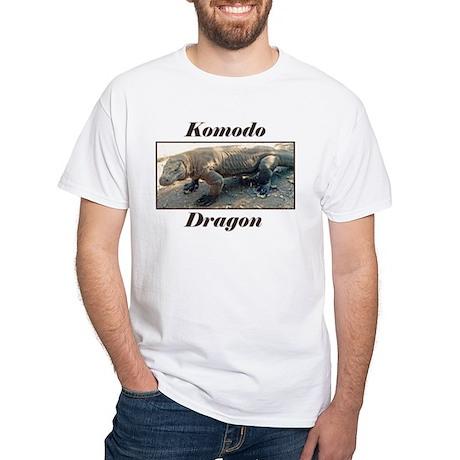 Komodo Dragon photo White T-Shirt