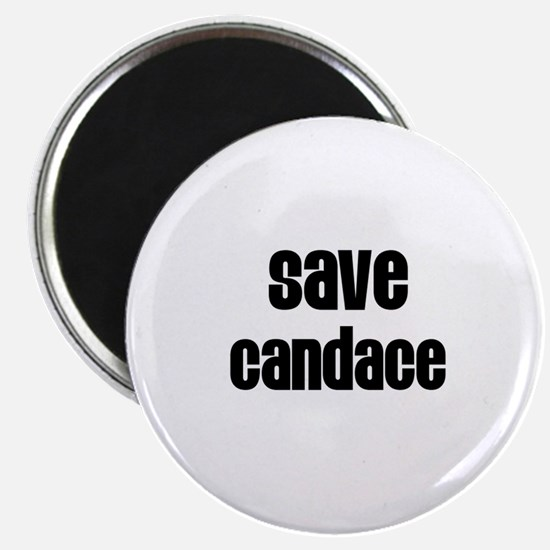 Save Candace Magnet