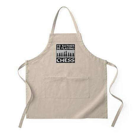 CHESS PLAYER BBQ Apron