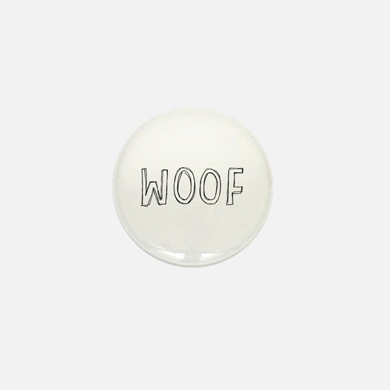 WOOF Mini Button