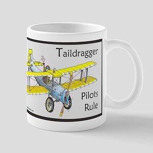 Taildragger Pilots Rule Mug