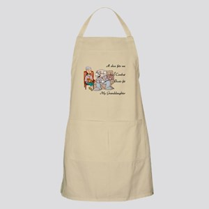 My Granddaughter's Boots BBQ Apron