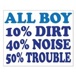 All Boy Small Poster