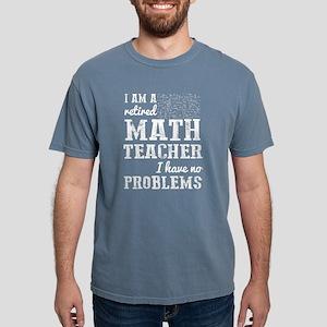 Retired Math Teacher T Shirt T-Shirt