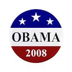 "Barack Obama 2008 Election 3.5"" Button"