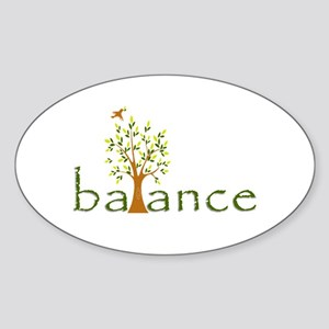 Balance Sticker (Oval)