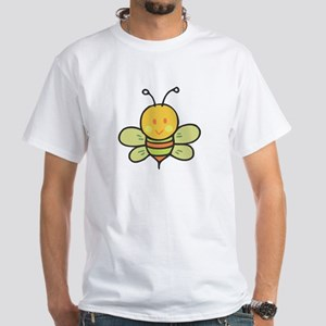 Baby Busy Bee White T-Shirt