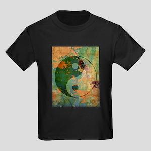 Yin Meets Yang Kids Dark T-Shirt