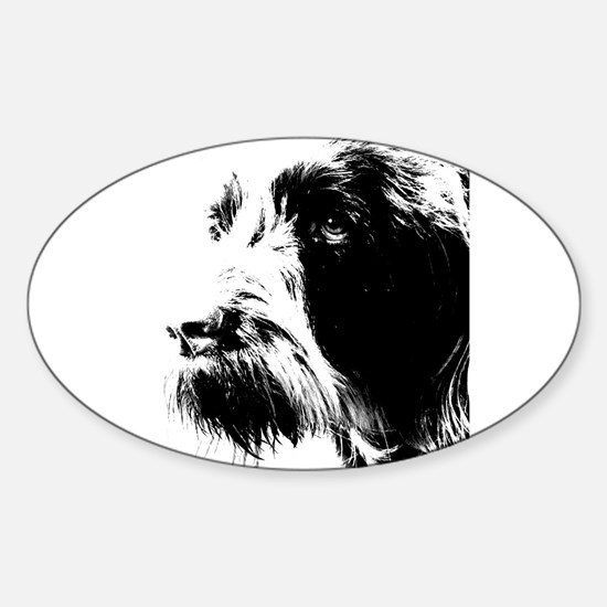 spinone Oval Decal
