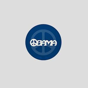 Obama Peace Mini Button
