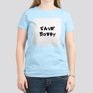 Save Bobby Women's Pink T-Shirt