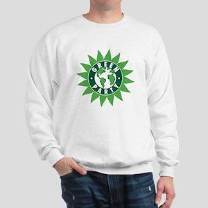 Green Party Logo (Sunflower/G Sweatshirt