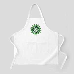 Green Party Logo (Sunflower/G BBQ Apron