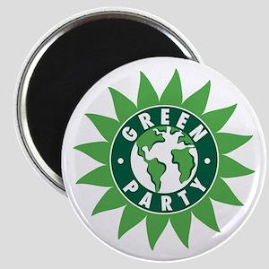Green Party Logo (Sunflower/G Magnet