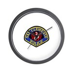 San Clemente Police Wall Clock