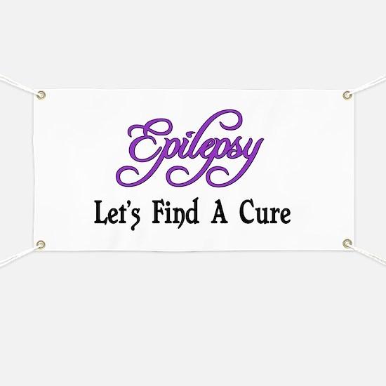 Epilepsy Let's Find Cure Banner