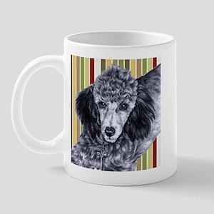 Penciled Poodle Mug