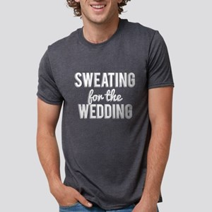 Sweating For The Wedding Funny Marriage Hu T-Shirt