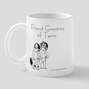 Proud Grammy of Boy-Girl Twin Mug