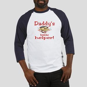 Daddys little bbq Baseball Jersey