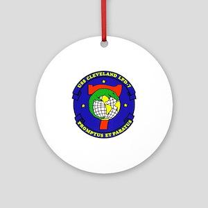 USS Cheyenne SSN-773 Ornament (Round)