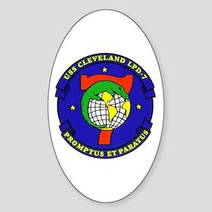 USS Cheyenne SSN-773 Oval Sticker