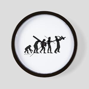 Sax Evolution Wall Clock