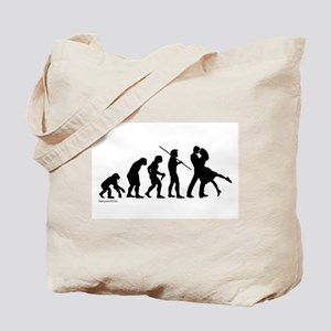 Dance Evolution Tote Bag