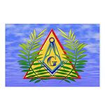 Masonic Acacia & Sky Postcards (Package of 8)