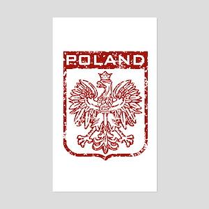Poland Rectangle Sticker
