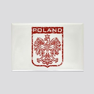 Poland Rectangle Magnet
