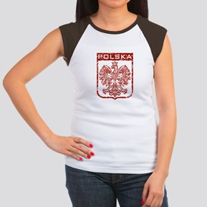 Polska Women's Cap Sleeve T-Shirt
