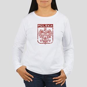 Polska Women's Long Sleeve T-Shirt