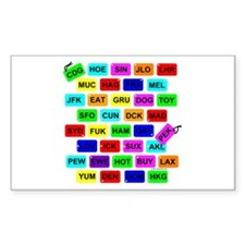 Tag It! Rectangle Sticker