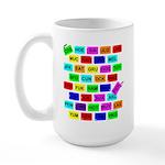 Tag It! Large Mug