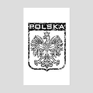 Polska Rectangle Sticker