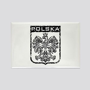 Polska Rectangle Magnet