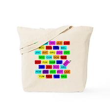 Tag It! Tote Bag