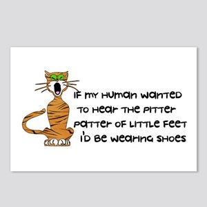 Child-Free Kitty Cat Postcards (Package of 8)