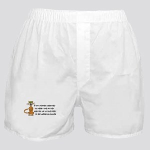 Child-Free Kitty Cat Boxer Shorts