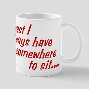 Somewhere to sit Mug